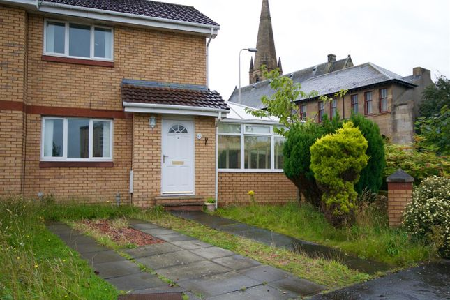 Thumbnail Semi-detached house for sale in Cross Stone Place, Motherwell