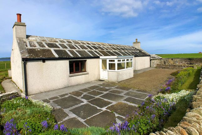 Thumbnail Detached bungalow for sale in Roadside, Rackwick, Westray, Orkney