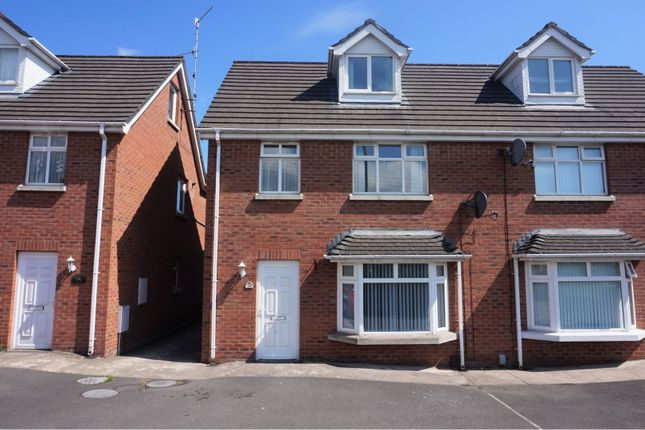 Thumbnail Semi-detached house to rent in Suffolk Road, Belfast
