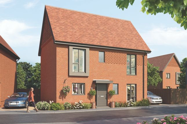 Thumbnail Detached house for sale in The Chadwell, Crowthorne
