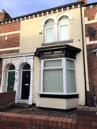 Thumbnail Terraced house to rent in Granvilleroad, Middlesbrough