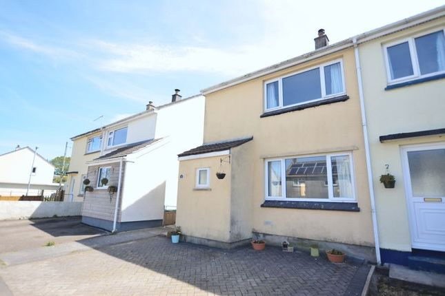 Thumbnail End terrace house to rent in Rectory Road, Lanivet, Bodmin