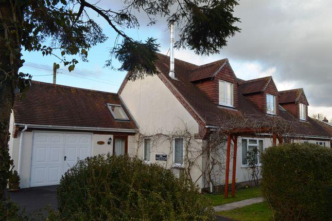 Thumbnail Detached bungalow for sale in Cole Street Lane, Gillingham