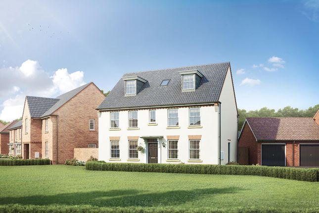 "Thumbnail Detached house for sale in ""Buckingham"" at Station Road, Warboys, Huntingdon"