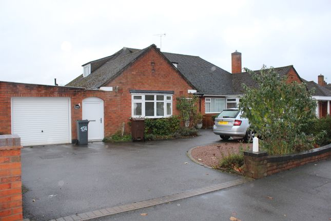 Thumbnail Semi-detached bungalow to rent in Shakespeare Drive, Shirley, Solihull, West Midlands