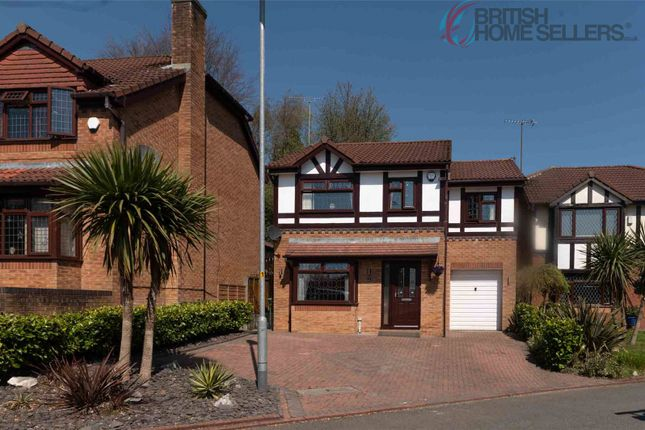 Detached house for sale in Lowcroft Crescent, Chadderton, Oldham