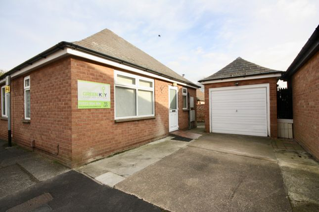 Thumbnail Bungalow to rent in Ernest Terrace, Lincoln