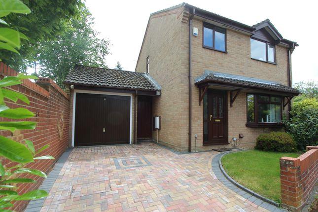 Thumbnail Detached house for sale in Adur Close, West End, Southampton