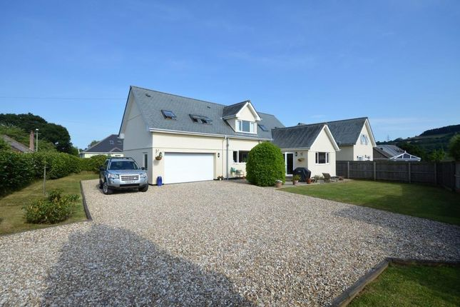 Thumbnail Detached house for sale in Summerhill Road, Liverton, Newton Abbot, Devon