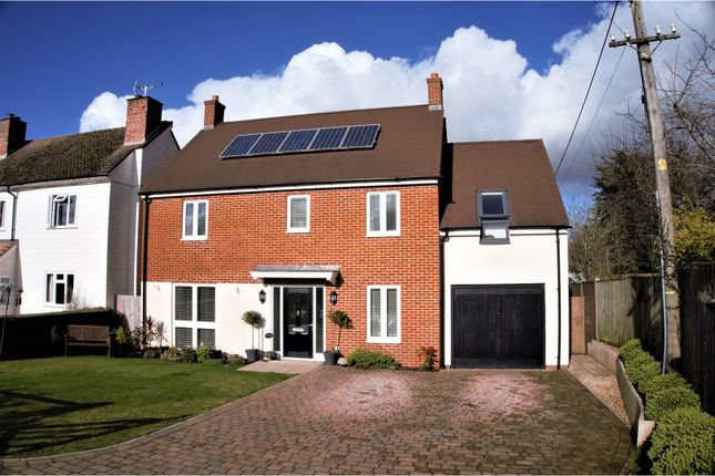 Thumbnail Detached house for sale in Upper Green, Hungerford