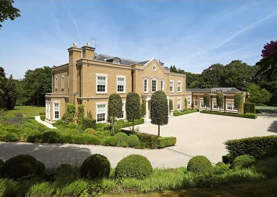 Thumbnail Detached house for sale in East Drive, Virginia Water, Surrey