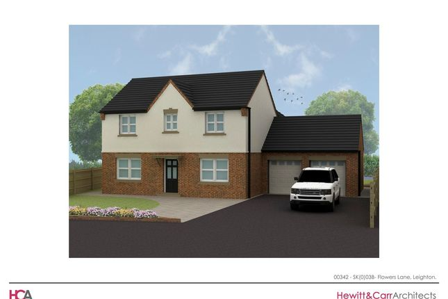 Thumbnail Detached house for sale in Barrows Green, Leighton, Crewe