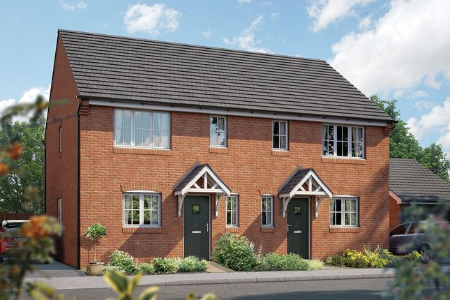 "Thumbnail Semi-detached house for sale in ""The Southwold"" at Station Road, Lower Stondon, Henlow"