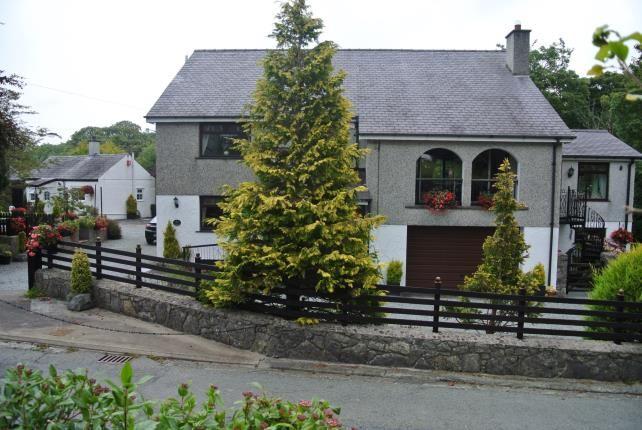 Thumbnail Detached house for sale in Glasinfryn, Bangor, Gwynedd