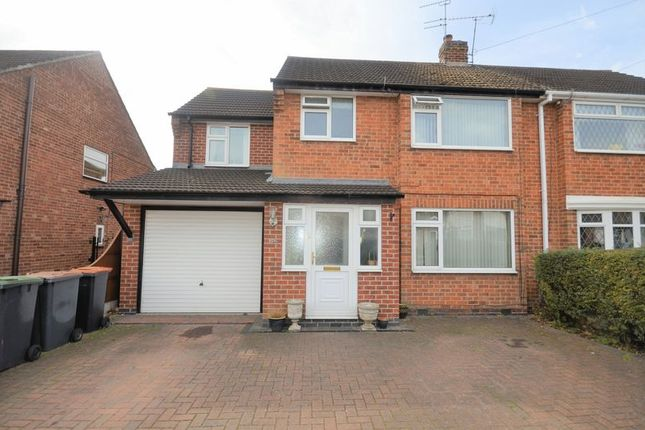 Thumbnail Semi-detached house for sale in 106 Seaburn Road, Nottingham