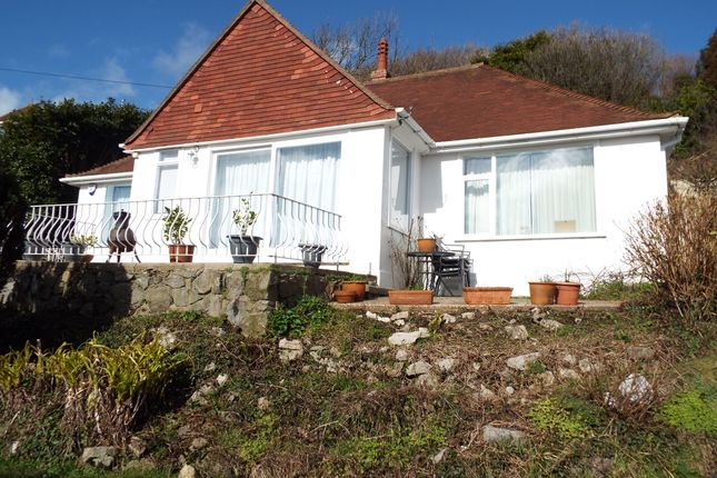 Thumbnail Detached bungalow for sale in Langland Bay Road, Langland, Swansea