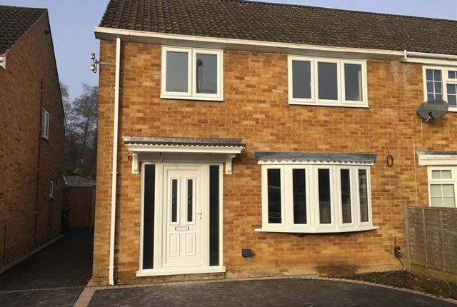 Thumbnail Semi-detached house to rent in St Marys Drive, Pound Hil, Crawley, West Sussex