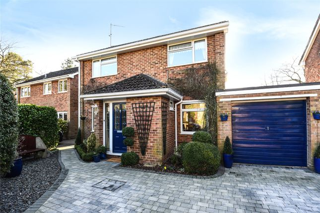Thumbnail Detached house for sale in Ripon Close, Camberley, Surrey