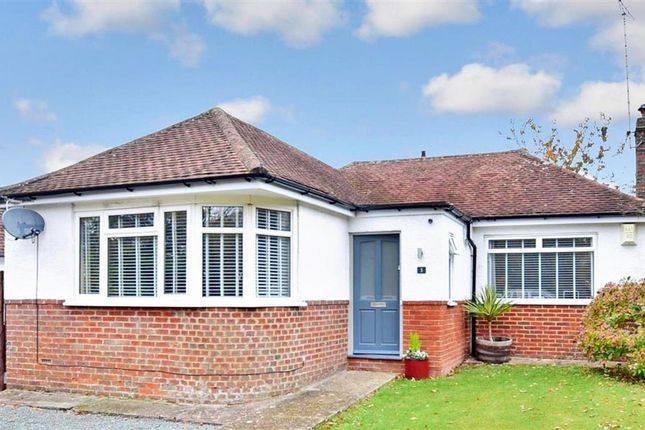 Thumbnail Detached bungalow for sale in Adastra Avenue, Hassocks, West Sussex