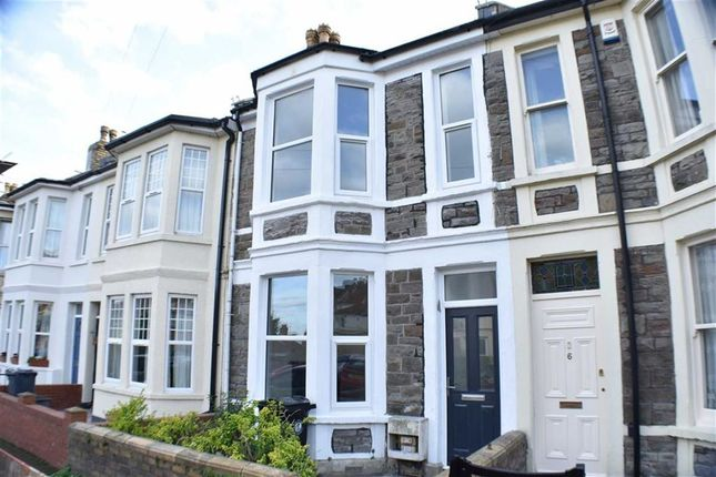 Thumbnail Terraced house to rent in Leighton Road, Knowle, Bristol