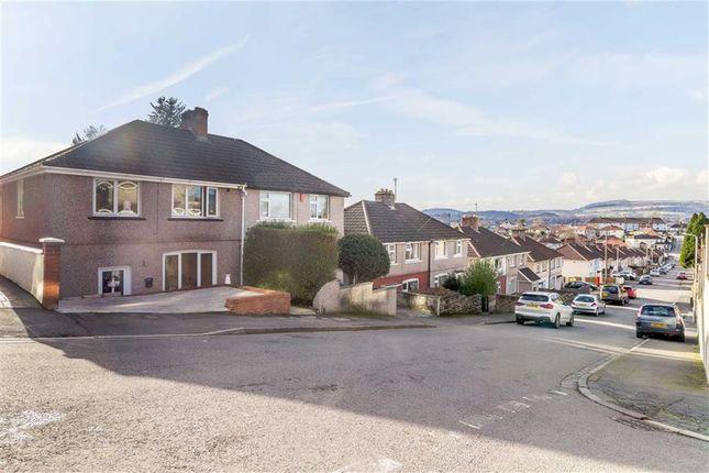 Thumbnail Semi-detached house for sale in Graig Park Road, Newport