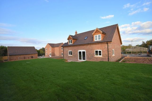 Thumbnail Detached bungalow for sale in Plot 4, Pave Lane, Chetwynd Aston, Newport