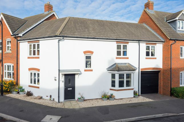 Thumbnail Semi-detached house for sale in Orchid Court, Kingsnorth, Ashford