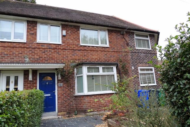 Thumbnail Semi-detached house for sale in Altrincham Road, Sharston, Manchester