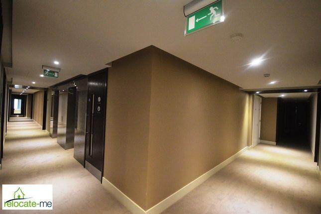 Hallway of Goodman Fields, London E1