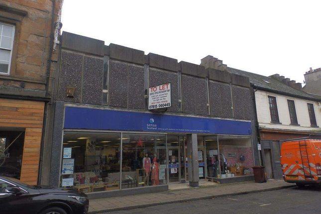 Thumbnail Retail premises to let in 19 - 23 Bridge Street, Dunfermline
