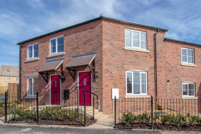Thumbnail Flat for sale in Plot 412, 28 Barrowfield Drive, Exeter Fields, Stamford