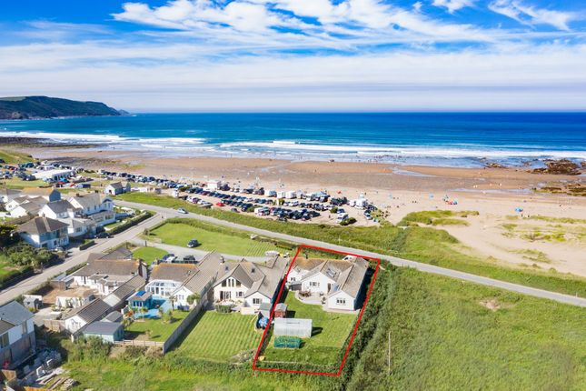 Thumbnail Detached bungalow for sale in Bramble Close, Widemouth Bay, Bude