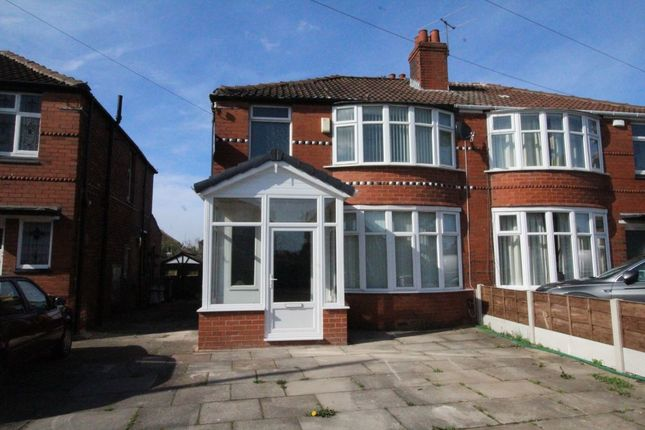Thumbnail Semi-detached house for sale in Heathside Road, Withington, Manchester