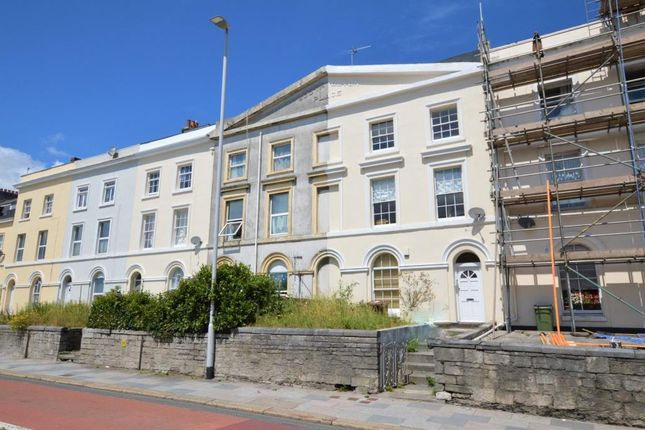 Thumbnail Maisonette for sale in Embankment Road, Plymouth, Devon