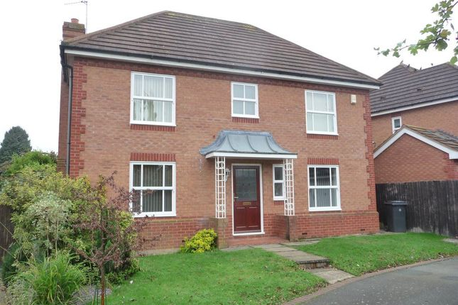 Thumbnail Detached house to rent in Percival Drive, Harbury, Leamington Spa