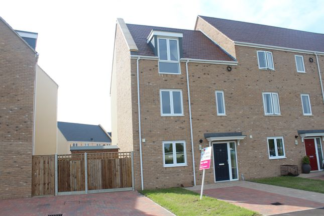 Thumbnail End terrace house for sale in Nar Valley Park, 20 Minnow Avenue, King's Lynn