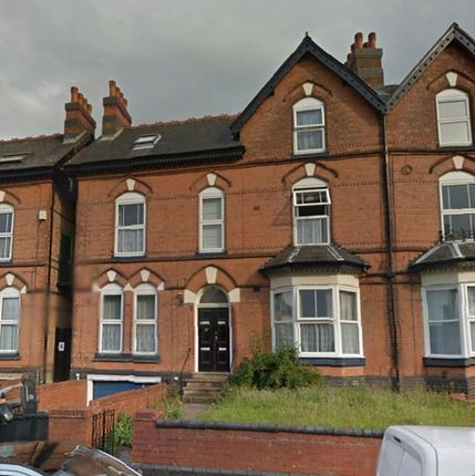 Thumbnail Studio to rent in Flat 1, Augusta Road, Moseley