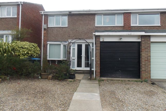 Thumbnail Semi-detached house to rent in Orleans Grove, Marton-In-Cleveland, Middlesbrough