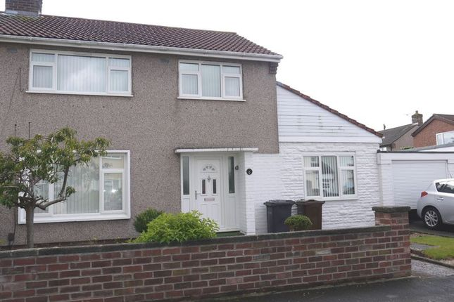 Thumbnail Semi-detached house for sale in Stonebarn Drive, Maghull, Liverpool
