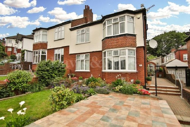 Thumbnail Semi-detached house for sale in Dewsland Park Road, Newport, Gwent.