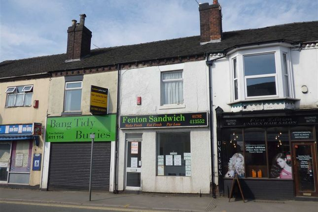 Restaurant/cafe to let in Victoria Road, Stoke-On-Trent, Staffordshire