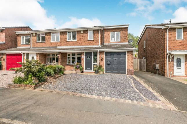 Thumbnail Semi-detached house for sale in Midhill Drive, Rowley Regis