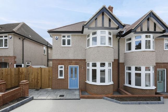 Thumbnail Semi-detached house for sale in Ridding Lane, Sudbury Hill, Harrow
