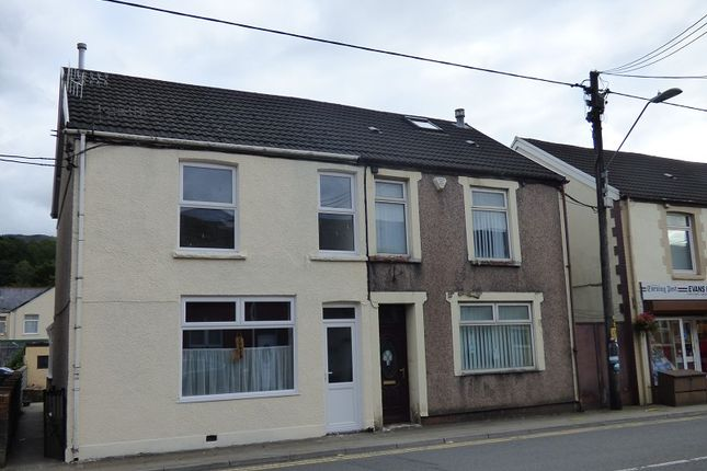 Thumbnail Semi-detached house to rent in High Street, Glynneath, Neath.
