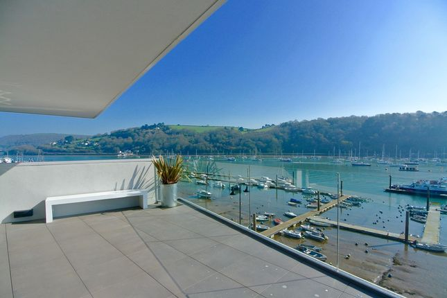 Thumbnail Flat for sale in The Penthouse, 6 Sails, College Way, Dartmouth, Devon