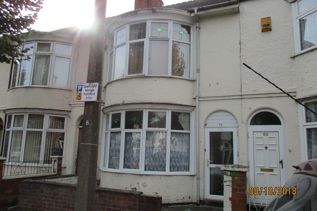 Thumbnail Terraced house for sale in Windsor Avenue, Leicester, Leicestershire
