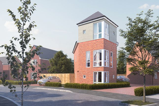 Thumbnail Detached house for sale in Harvills Grange, Wedgewood Avenue, West Bromwich