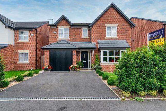 Thumbnail Detached house for sale in Cotton Meadows, Bolton, Lancashire.