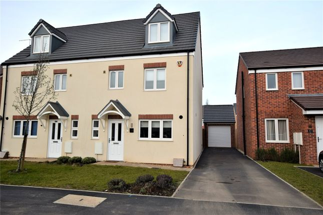 Thumbnail Semi-detached house for sale in Northfield Way, Kingsthorpe