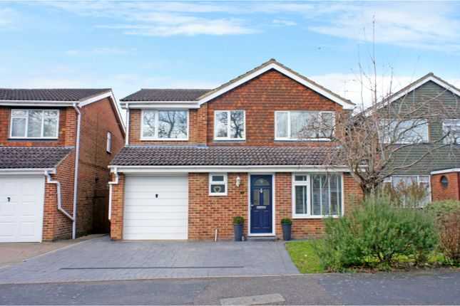 Thumbnail Detached house for sale in Melville Avenue, Frimley